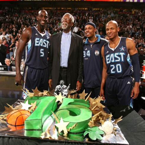 I big three, Russel, la torta