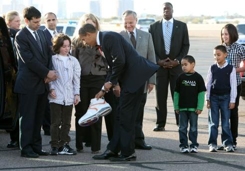 Il piccolo dono ad Obama