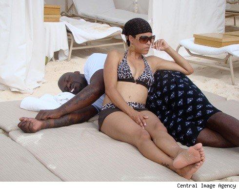 Shaq e moglie, ma non chiedete se sono ancora insieme
