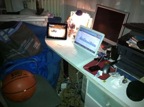 Live from my bedroom - La postazione del live