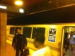 La Metropolitana all'arrivo a Oakland