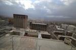 La vista dal nostro hotel di Reno, Nevada, orgogliosamente una delle più brutte città d'America