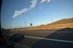 Fuori da Los Angeles, direzione San Francisco