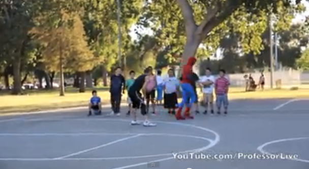 Spiderman al campetto