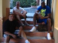 Con amici a Portofino