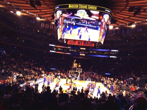 Il Madison Square Garden in una nostra foto