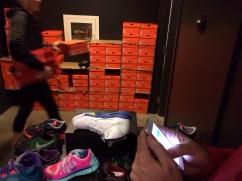 La coda a Nike Las Vegas