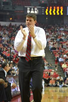 Dave Rice, coach Unlv