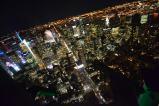 New York dall'alto di notte