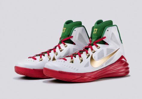 Le scarpe del Beli all'All Star Game
