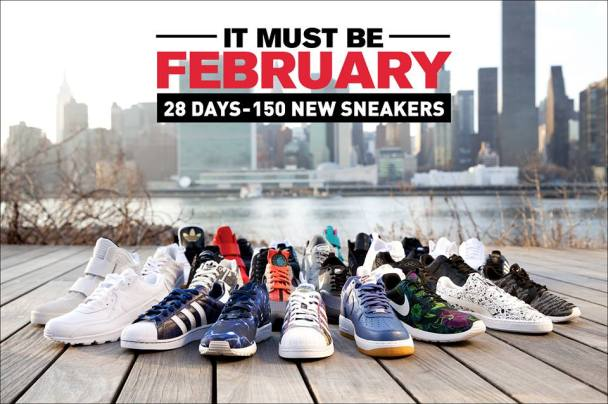 """La campagna Footlocker """"It must be february"""""""