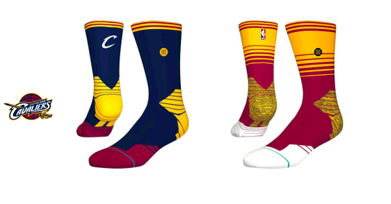 I calzini di Stance: l'esempio dei Cavs