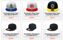 I cappellini New Era sullo store online dell'Eurolega