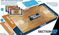 La nuova grafica del campo realizzata da section127.com