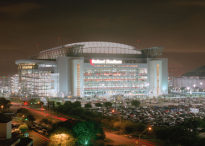 L'Nrg Stadium di Houston, teatro delle Final Four
