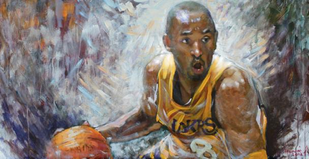 Kobe dipinto